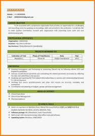Make A New Resume Free Resume Templatees Templates Examples Correct Format Lovely New 23