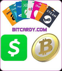 sell gift cards bitcoin and cash app