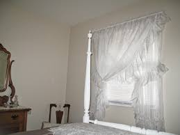 Bedrooms · Cheerful Thrifty Door: Priscilla Curtains Timeless Elegance