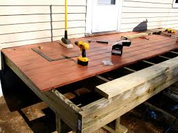 Innovation Simple Wood Patio Designs D And Creativity Design