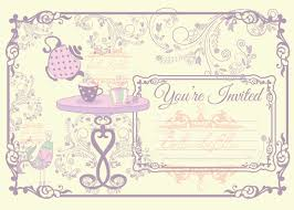Kitchen Tea Party Invitation Party Invitation Cards Templates