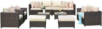 ovios patio furniture set 12 pcs