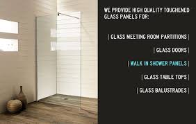 walk in shower partitions