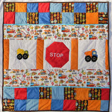 Ready to ship - Tula boy - Can you dig it from CreatedbyMammy & Ready to ship - Tula boy - Can you dig it - Construction baby boy crib Adamdwight.com