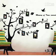 new black photo memory tree wall sticker fashion wall decals home decoration star stickers for walls star wall decals from okelec 55 38 dhgate com
