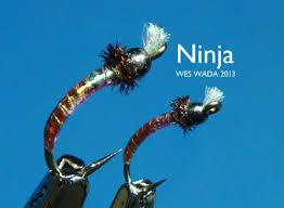 Midge Patterns New Winter Week's Tying Ninja Chironomid Pupa Original FLY FOUNDRY