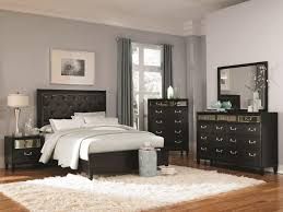 Admirable Bedroom Furniture Sets With Wooden Floor On The White Fur