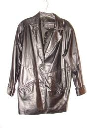 beautiful wilsons leather blazer jacket in a size small