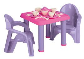 Plastic Table Chair Set Wooden Childrens Table And Chairs New With Picture Of Wooden