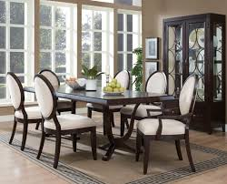 um size of dining room table large oval dining table seats 8 habitat dining table