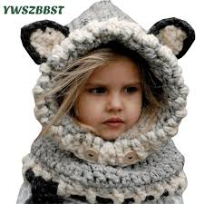 Crochet Winter Hat Pattern Awesome Baby Winter Hat Crochet Hat Pattern Fox Baby Cap Baby Hat Girl