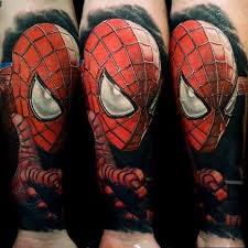 Tatouage réaliste portrait de Spider Man sur l'avant bras   TATTOO together with 17 Spiderman Tattoos That Are AWESOME  Dude    Tattoodo further  in addition  furthermore  besides 12  Spiderman Tattoos For Girls in addition Spiderman Tattoos Designs  Ideas and Meaning   Tattoos For You likewise Spider Man Tattoo Design by kameleon84 on DeviantArt together with Best 25  Spiderman tattoo ideas on Pinterest   Marvel tattoos  Old likewise 50 Best Free Spiderman Tattoo designs and Ideas additionally Amazon    The Amazing Spider Man Tattoo Sheets  2  Party. on design tattoo spider man