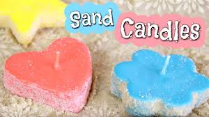 Diy Candles Diy Sand Candles How To Make Candle Molds With Sand Youtube