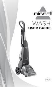 bissell readyclean wash 54k25 carpet