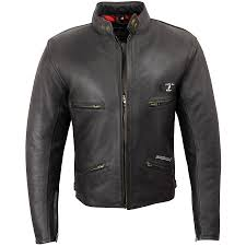 men s rida tec retro leather jacket