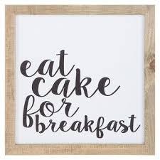 World map wood wall decor hobby lobby 1650449. Eat Cake For Breakfast Wood Wall Decor Hobby Lobby Breakfast Nook Decor Wood Wall Decor Breakfast Cake