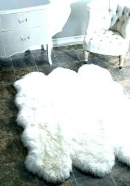 white fur area rug fur rugs faux fur rug sheepskin white furry ivory area