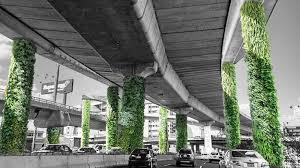 mexico city pillar gardens