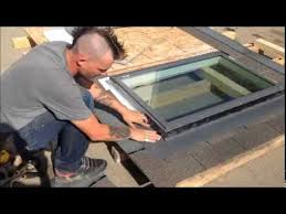 How to install a skylight video - YouTube
