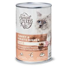 Special Kitty Pate Wet Cat Food, Turkey & Giblets Dinner, 22 oz ...