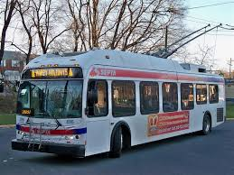 knight transportation terminal septa new flyer e40lfr low floor trackless trolley spax 816 at