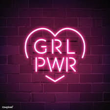 We have a massive amount of desktop and mobile backgrounds. Girl Power Neon Sign Vector Free Image By Rawpixel Com Ningzk V Neon Signs Neon Wallpaper Neon Signs Quotes