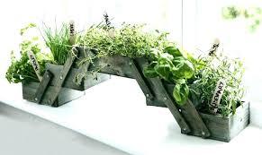 window plant shelf indoor window planter wooden herb planter kit seeds kitchen window box pot indoor