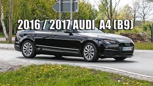 New Audi A4 2016 (2017) B9 series without any sort of camouflage ...