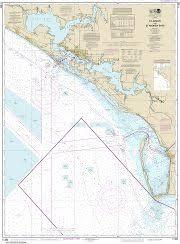 Noaa Chart 11416 Waterproof Chart Of Tampa Bay And St Joseph Sound Noaa