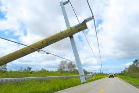 one of the calling cards left by hurricane irma in peace river electric cooperative s florida service