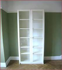bookcase with glass door billy