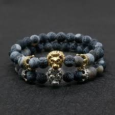 <b>Wholesale</b> Antique <b>Gold Color</b> Buddha Leo Lion Head Bracelet ...
