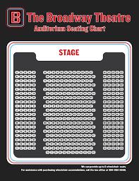 Saskatoon Rush Seating Chart Broadway Theatre