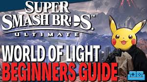World Of Light Guide Super Smash Bros Ultimate World Of Light Beginners Guide