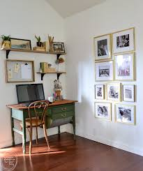 modern office shelving. An Antique Baker\u0027s Table Becomes A Desk By Removing One Of The Flour Drawers. Vintage Modern Office Shelving L