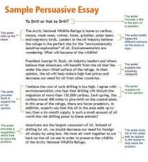 samples of persuasive essays for high school students
