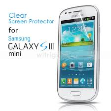 samsung galaxy s3 mini. clear screen protector for samsung galaxy s3 mini