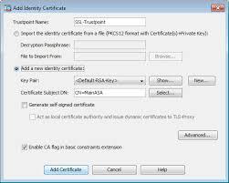 Configure Asa Ssl Digital Certificate Installation And Renewal Cisco