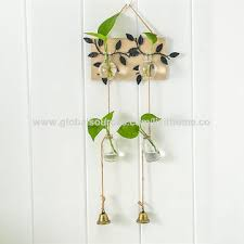 hook and glass metal plant racks simple