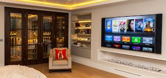 Home Tv System Design Smarthome Technology Home Entertainment Automation