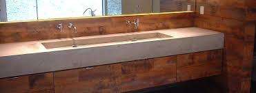 concrete trough sink concrete sink floating concrete trough sink diy