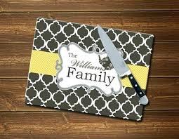 large glass cutting board personalized monogrammed personalised chopping australia c post