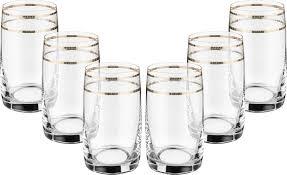 "<b>Набор стаканов</b> для воды <b>Bohemia Crystal</b> ""Идеал"", 250 мл, 6 шт ..."