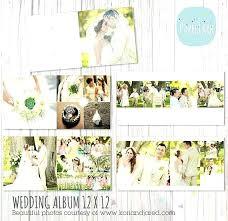 Wedding Album Templates Design Template Free Collage Photo Elaiaezine