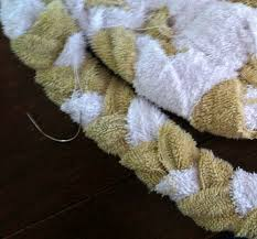 home interior unconditional braided towel rug from braided towel rug
