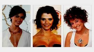 Korte Kapsels Krullend Haar Verleidelijke Met Krullen Haarstudio