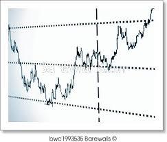 Stock Chart Art Stock Chart Art Print Poster