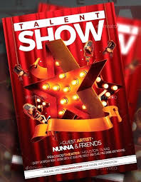 Talent Show Flyer Design Talent Show Program Template Templates Flyer Word Free