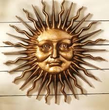 wall art ideas design greek mythology metal sun wall art extraordinary brown background hanging professional artisan extraordinary creations metal sun