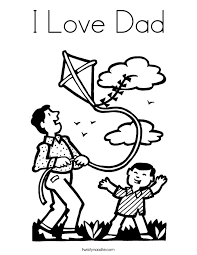 Small Picture I Love Dad Coloring Page Twisty Noodle